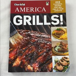 Char Broil America Grills Cookbook 303-pages